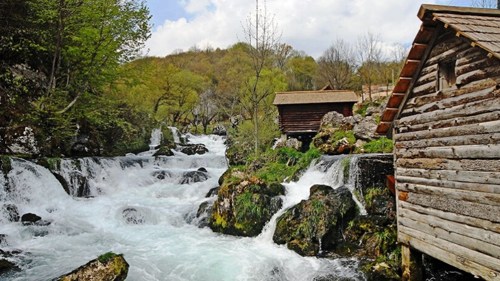 SPRINGS OF THE KRUPA RIVER